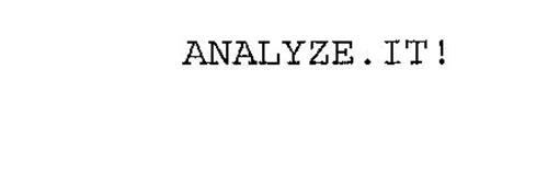 ANALYZE.IT!