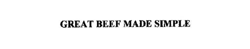 GREAT BEEF MADE SIMPLE