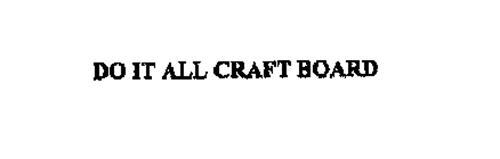 DO IT ALL CRAFT BOARD