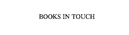 BOOKS IN TOUCH