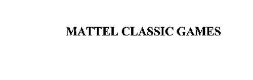 MATTEL CLASSIC GAMES