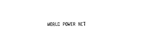 WORLD POWER NET
