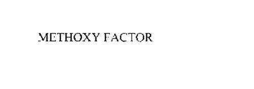 METHOXY FACTOR