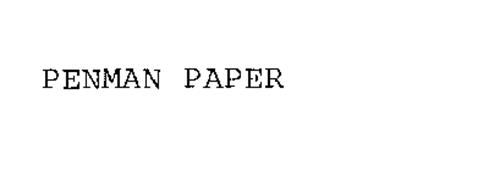 PENMAN PAPER