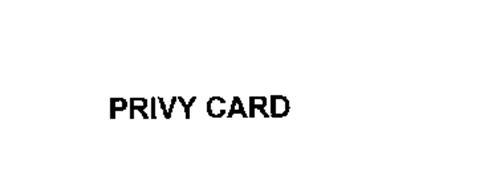 PRIVY CARD