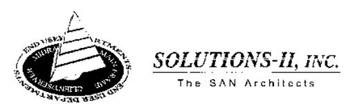 SOLUTIONS-II, INC. THE SAN ARCHITECTS END USER DEPARTMENTS MIDRA MAINFRAME CLIENT/SERVER