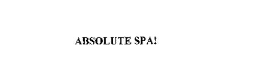 ABSOLUTE SPA!