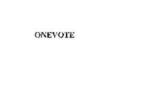 ONEVOTE
