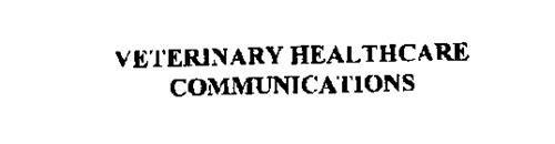 VETERINARY HEALTHCARE COMMUNICATIONS