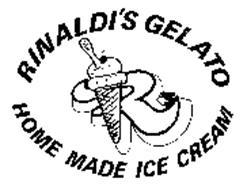 RINALDI'S GELATO HOME MADE ICE CREAM