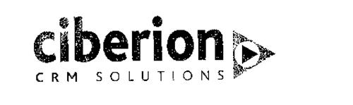 CIBERION CRM SOLUT IONS