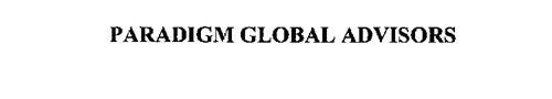 PARADIGM GLOBAL ADVISORS