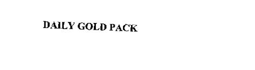 DAILY GOLD PACK