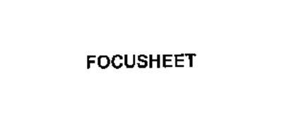 FOCUSHEET