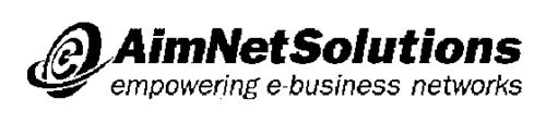 AIMNET SOLUTIONS EMPOWERING E-BUSINESS NETWORKS