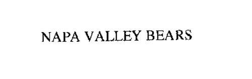 NAPA VALLEY BEARS