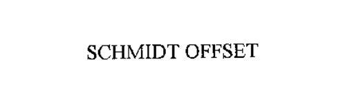 SCHMIDT OFFSET