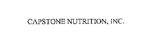 CAPSTONE NUTRITION, INC.