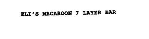 ELI'S MACAROON 7 LAYER BAR