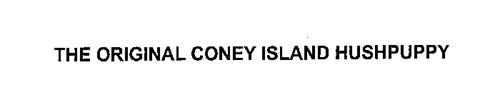 THE ORIGINAL CONEY ISLAND HUSHPUPPY