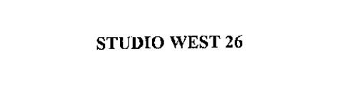 STUDIO WEST 26