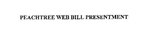 PEACHTREE WEB BILL PRESENTMENT