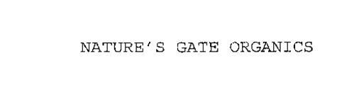 NATURE'S GATE ORGANICS