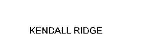 KENDALL RIDGE
