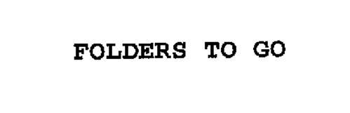 FOLDERS TO GO