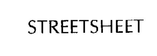 STREETSHEET
