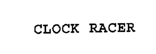 CLOCK RACER