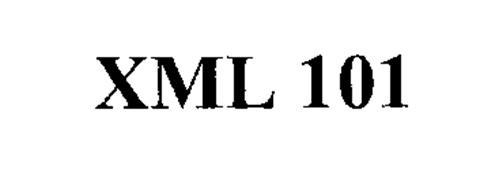 XML 101