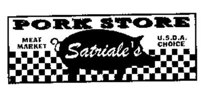 PORK STORE MEAT MARKET SATRIALE'S U.S.D.A. CHOICE