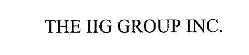 THE IIG GROUP INC.