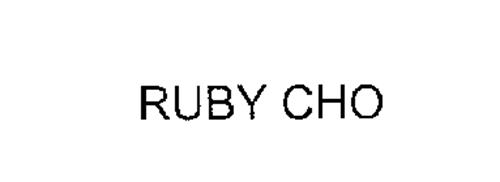 RUBY CHO