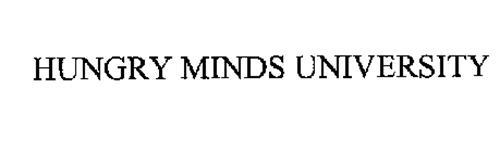 HUNGRY MINDS UNIVERSITY