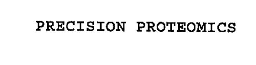 PRECISION PROTEOMICS