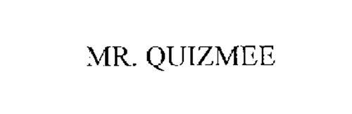 MR. QUIZMEE
