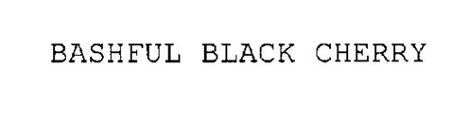 BASHFUL BLACK CHERRY