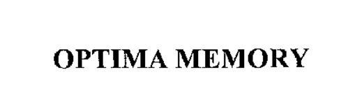 OPTIMA MEMORY