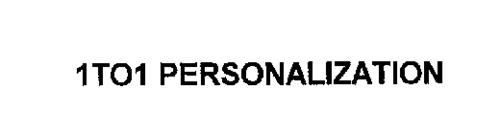1TO1 PERSONALIZATION