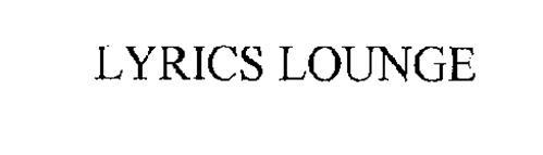 LYRICS LOUNGE