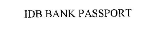 IDB BANK PASSPORT