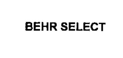 BEHR SELECT