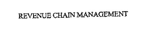 REVENUE CHAIN MANAGEMENT