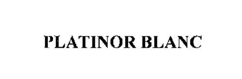 PLATINOR BLANC