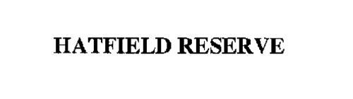 HATFIELD RESERVE