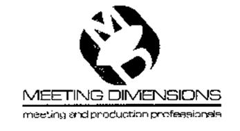 MD MEETING DIMENSIONS MEETING AND PRODUCTION PROFESSIONALS