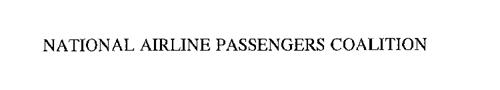 NATIONAL AIRLINE PASSENGERS COALITION