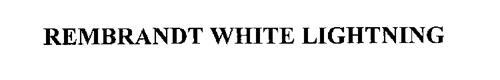 REMBRANDT WHITE LIGHTNING